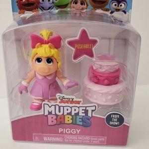 NIB Muppet Babies Piggy & Birthday Cake
